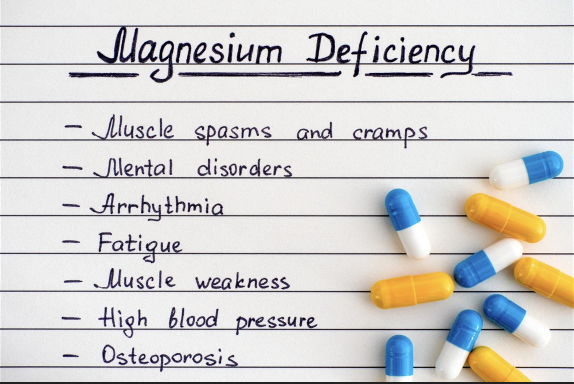 Magnesium Suppliments